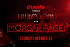 Halloween Weekend w/ Morgan Page